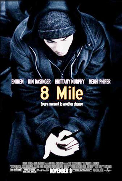 8 Mile (2002) - Movie Poster