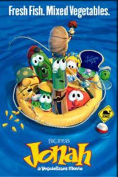 Jonah: A VeggieTales Movie (2002) - Movie Poster