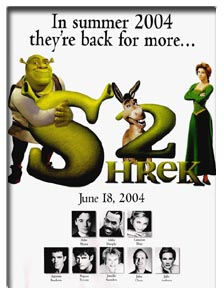 Shrek 2 (2004) - Movie Poster