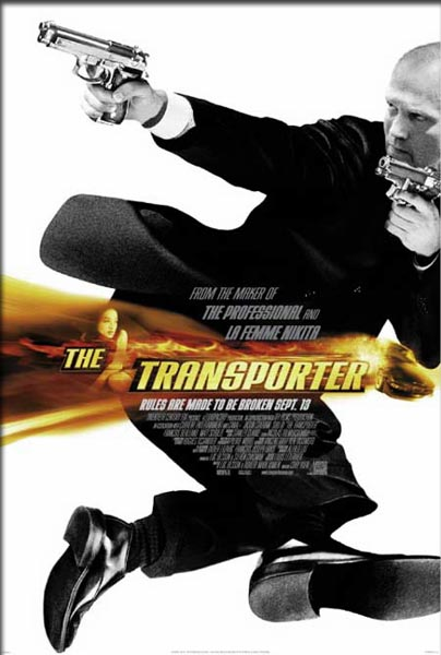 Transporter, The (2002) - Movie Poster