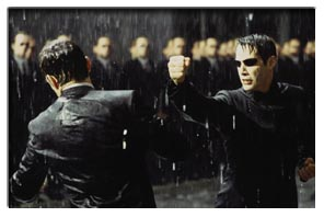 a review of the movie matrix Janet maslin reviews the matrix, movie directed by brothers andy and larry  wachowski photo (m.