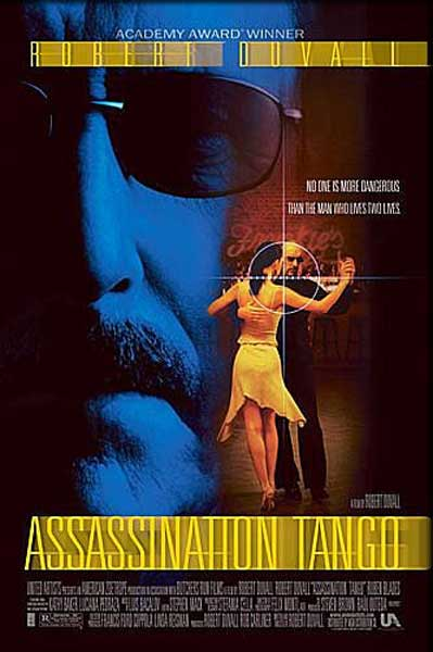 Assassination Tango (2002) - Movie Poster