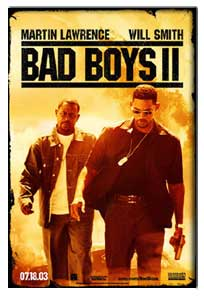 Bad Boys 2 (2003) - Movie Poster