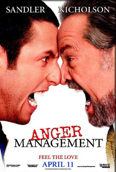 Anger Management (2003) - Movie Poster