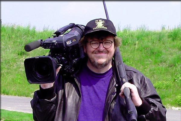 Displaying his weapons – a gun and a film camera – as writer, producer, and director of United Artists and Alliance Atlantis' award-winning documentary