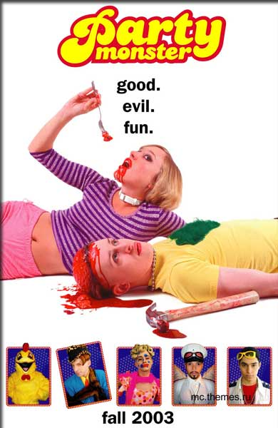 Party Monster (2003) - Movie Poster