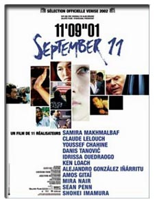 11'09''01 - September 11 (2002) - Movie Poster