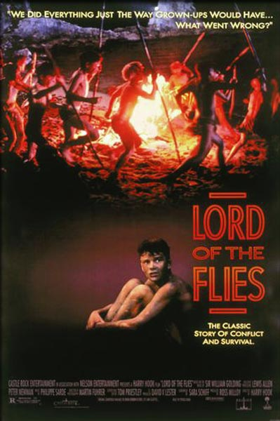 Lord of the Flies (1990) - Movie Poster
