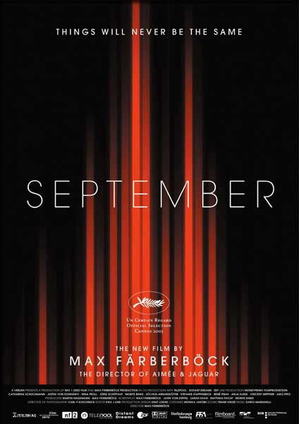 September (2002) - Movie Poster