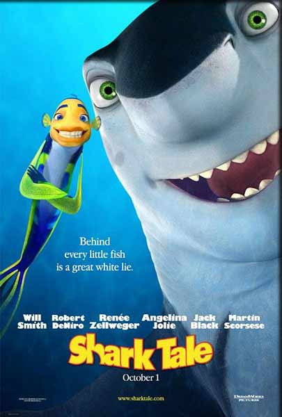 Shark Tale (2004) - Movie Poster