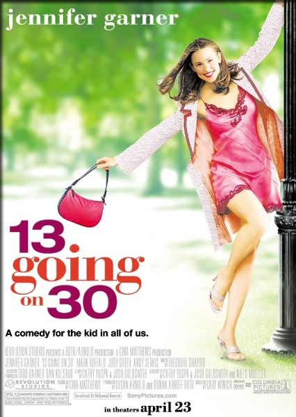 13 Going On 30 (2004) - Movie Poster