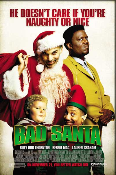 Bad Santa (2003) - Movie Poster
