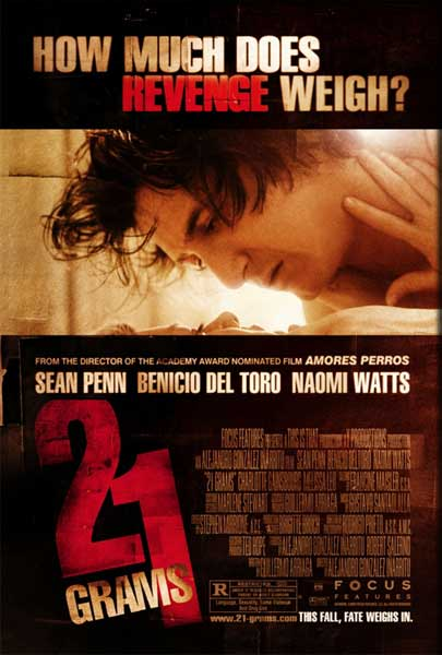 21 Grams (2003) - Movie Poster