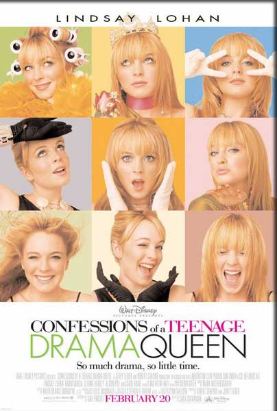 Confessions of a Teenage Drama Queen (2004) - Movie Poster