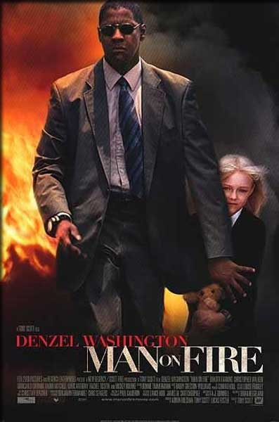 Man on Fire (2004) - Movie Poster