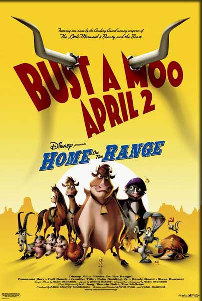 Home on the Range (2004) - Movie Poster
