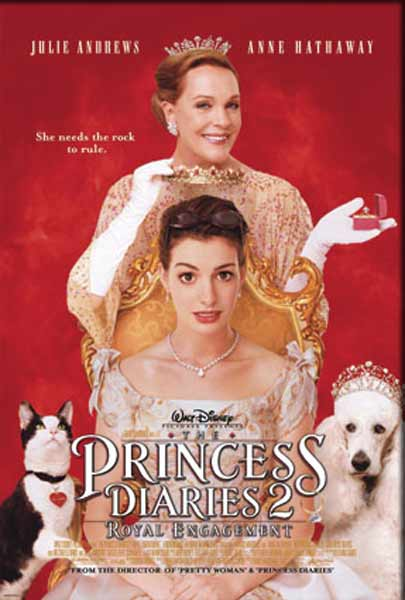 Princess Diaries 2: Royal Engagement, The (2004) - Movie Poster