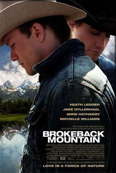 Brokeback Mountain (2004) - Movie Poster