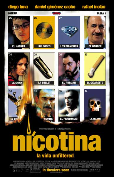 Nicotina (2004) - Movie Poster