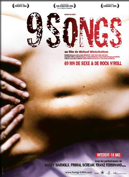 9 Songs (2004) - Movie poster