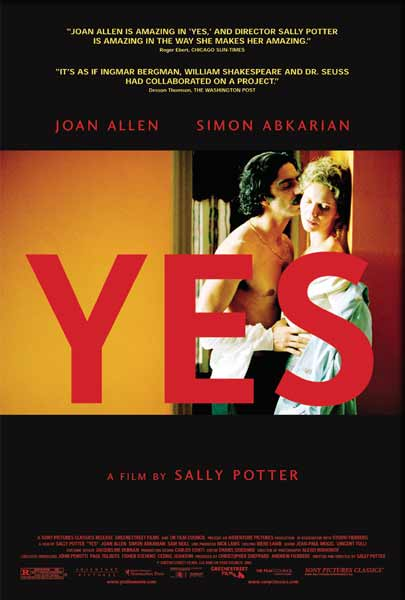 Yes (2004) - Movie Poster