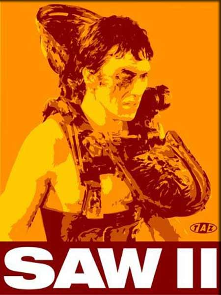 Saw 2 (2005) - Movie Poster