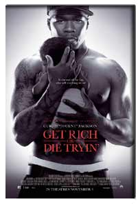 Get Rich or Die Tryin (2005) - Movie Poster