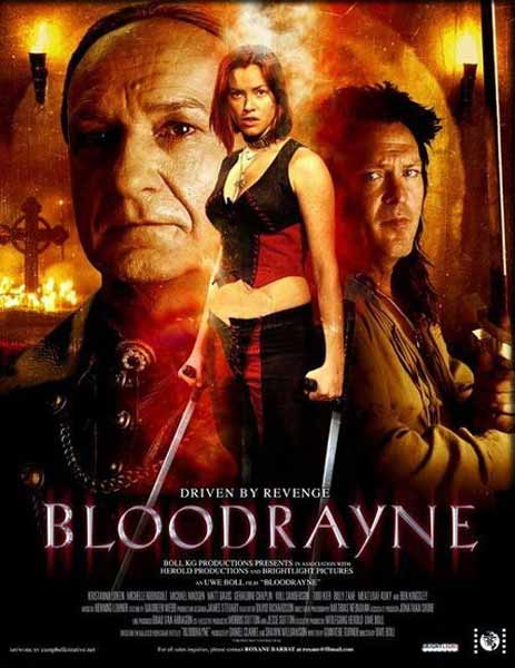 Bloodrayne (2006) - Movie Poster