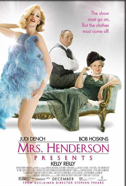 Mrs. Henderson Presents (2005) - Movie Poster