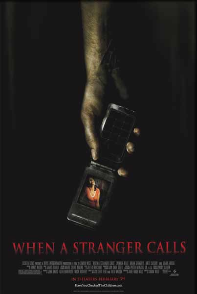 When a Stranger Calls (2006) - Movie Poster