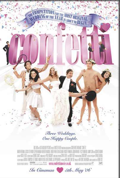 Confetti (2006) - Movie Poster