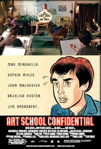 Art School Confidential (2006) - Movie Poster