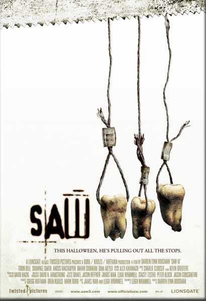 Saw 3 (2006) - Movie Poster