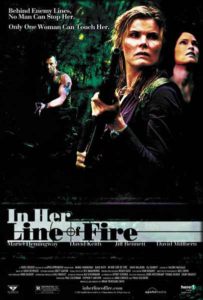 In Her Line of Fire (2006) - Movie Poster