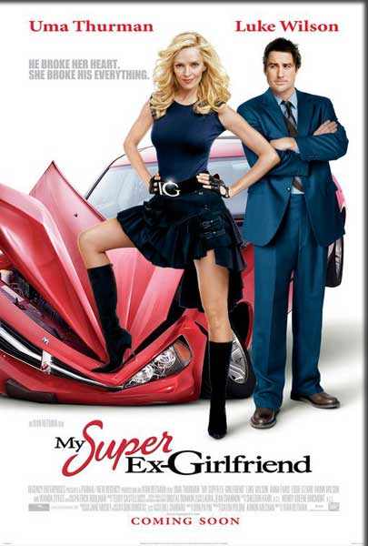 My Super Ex-Girlfriend (2006) - Movie Poster