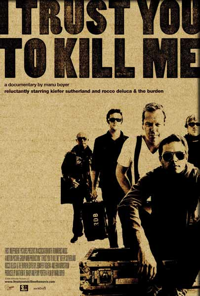 I Trust You to Kill Me (2006) - Movie Poster