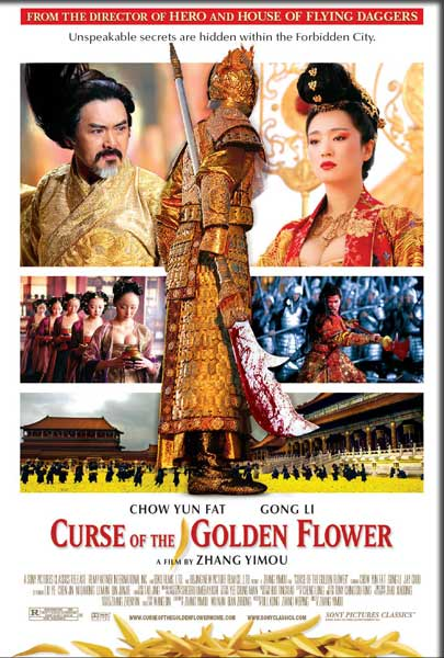Curse of the Golden Flower (2006) - Movie Poster