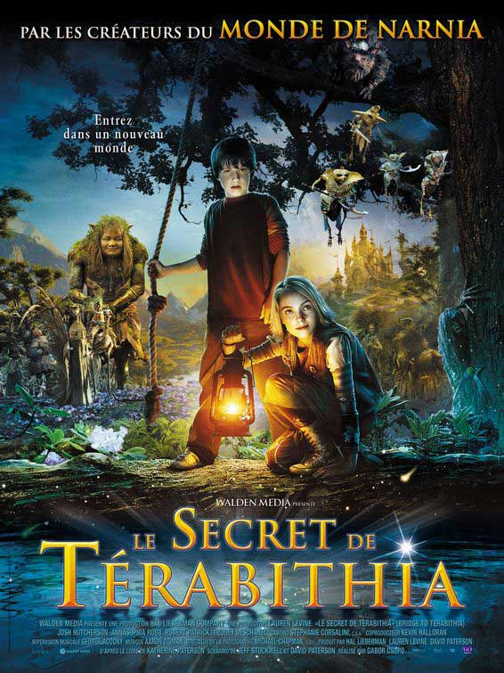 Bridge to Terabithia (2007) - Movie Poster