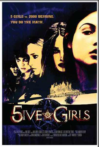 5ive Girls (2006) - Movie Poster