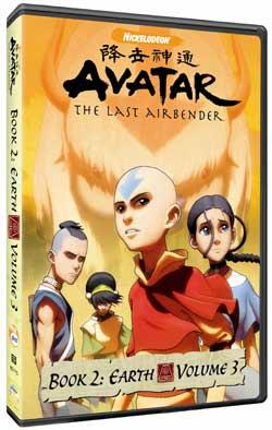 Avatar The Last Airbender DVD