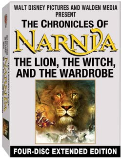 Chronicles Of Narnia 4 Disc Dvd
