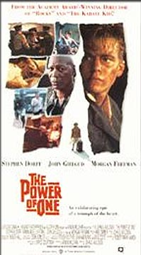 The power of one movie essay